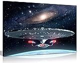 KUNSTDRUCK STAR TREK, GROSS, 76 X 51 CM, DIN-A1