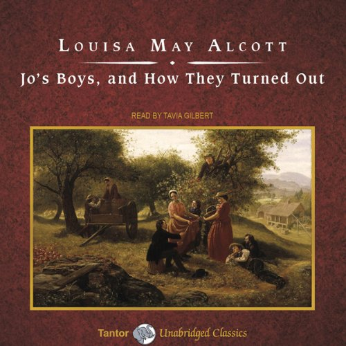 Jo's Boys, and How They Turned Out audiobook cover art