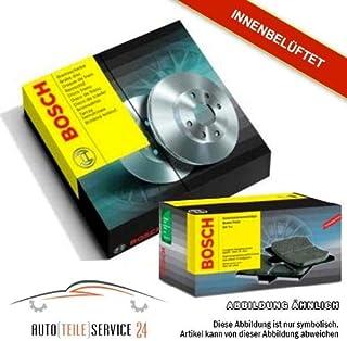Bremsscheiben und Bremsbeläge Vorne BOSCH 0986479223 + 098649409
