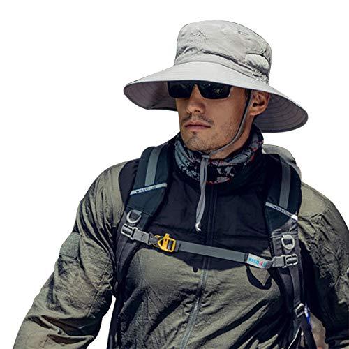 TourKing Hombres al Aire Libre Sombrero para el Sol Sombrero de protec