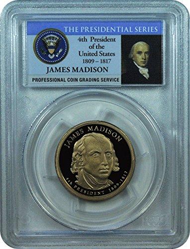 2007 Madison Presidential Dollar PR-69 PCGS DCAM
