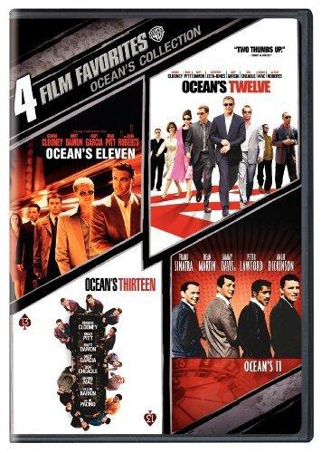 Four Film Favorites: Ocean's Collection (Ocean's Eleven 2001 / Ocean's Twelve / Ocean's Thirteen / Ocean's Eleven 1960)