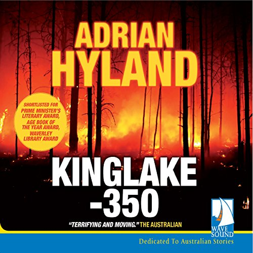 Kinglake 350 audiobook cover art