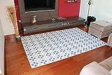 GleeGrass Alfombra Vinilica Q-Carpet Circulos (1,20 x 1,80 Metros)