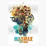 Amelius Fury Road Max Poster Mad, Beeindruckende Poster