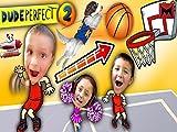 Kids Make Impossible Basketball Shot and Dude Perfect 2 Skit!