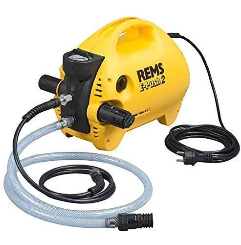 REMS e-push 2–elektrischen Pumpe Überprüfung/A e-push2