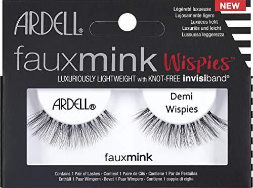 Ardell AII66763B Demi Wispies Pestañas Glamurosas Faux Mink, Negro