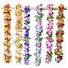 Joyin Toy 36 Counts Tropical Hawaiian Luau Flower Lei Party Favors (3 Dozen) #5