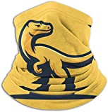 Haloxa Dinosaurs Concept Fleece Neck Warmer Windproof Mask Circle Loop Scarves Ear Warmer Headband