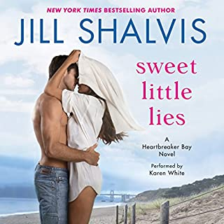 Sweet Little Lies     A Heartbreaker Bay Novel              By:                                                                                                                                 Jill Shalvis                               Narrated by:                                                                                                                                 Karen White                      Length: 9 hrs and 35 mins     277 ratings     Overall 4.3