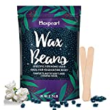 Wax Beads for Hair Removal, 2.5lb Maxpearl Hard Wax Beans Refill Bag for Brazilian Bikini, Face, Eyebrows, Underarms, Arms, Chest, Back, Legs, Coarse Body Hair Specific