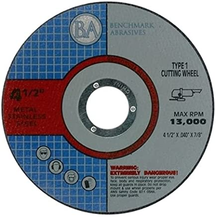 "50 Pack - 4.5""x.040""x7/8"" Quality Thin Cut Off Wheels Metal & Stainless Steel"