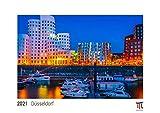 Düsseldorf 2021 - White Edition - Timokrates Kalender, Wandkalender, Bildkalender - DIN A3 (42 x 30 cm)
