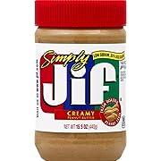 Jif Peanut Butter Simply Creamy, 15.5 Ounce