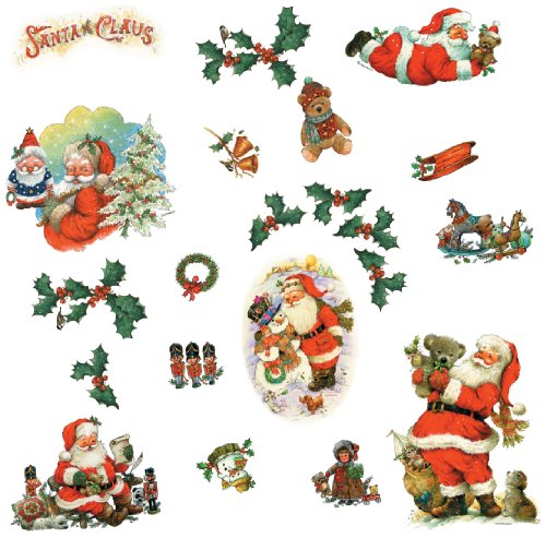 RoomMates Santa Peel and Stick Wall Decals