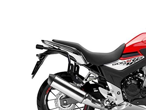 Shad H0CX56IF Soporte Maletas 3P System para Honda Cb500X, Negro