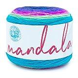Lion Brand Yarn Company 525-220 Mandala Yarn, Troll, una madeja