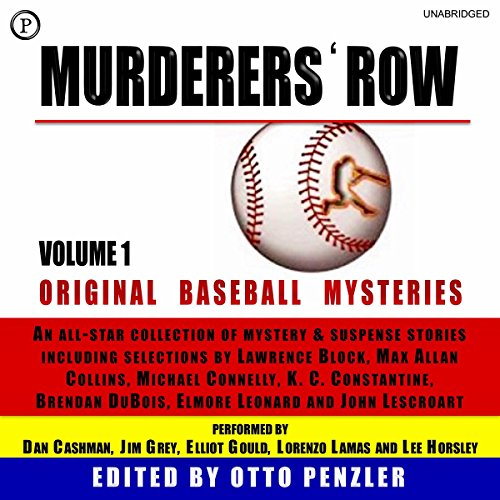 Murderers' Row: Original Baseball Mysteries, Volume 1 audiobook cover art