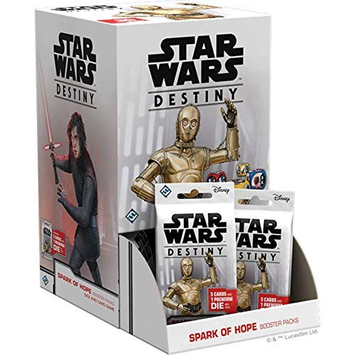 Fantasy Flight Games Star Wars Destiny: Spark of Hope Booster Pack Display (Includes 36 Booster Packs) - English