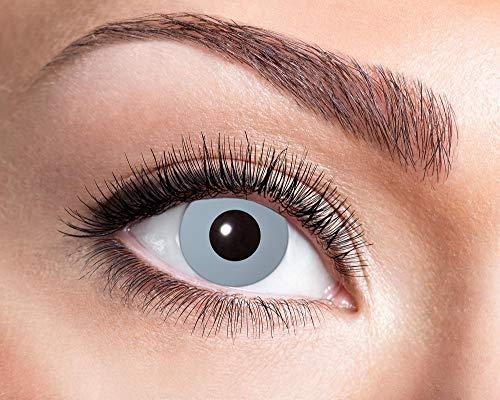 Eyecatcher Motivlinsen – Vampire Grey 745-3,5 Dioptrien - farbige Jahreslinsen Kontaktlinsen
