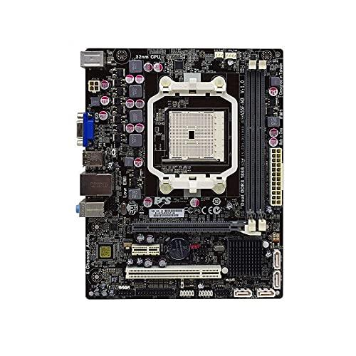 RTYU Fit For Placa Base ECS A55F2-M3 AMD A55 Socket FM2 DDR3 32GB SATA II Micro ATX Placa Base de Escritorio