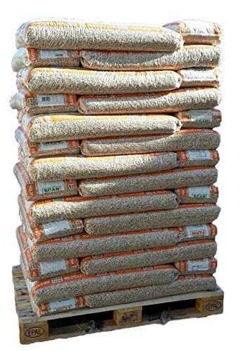 ScanFarm® Holzpellets 6 mm, 56 x 16 kg-Sack 896 kg