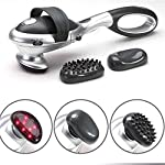 Handheld Electric Back Massager, Deep Tissue Percussion Infrared Portable Massage Device Helps Relieve Muscle Soreness and Stiffness Best Gifts for Women and Men