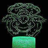 Rana de mascota de dibujos animados única luz led 3d panel de acrílico creativo lámpara de escritorio pequeña multicolor luz de ambiente luz de noche LED luz decorativa base de grieta preferida