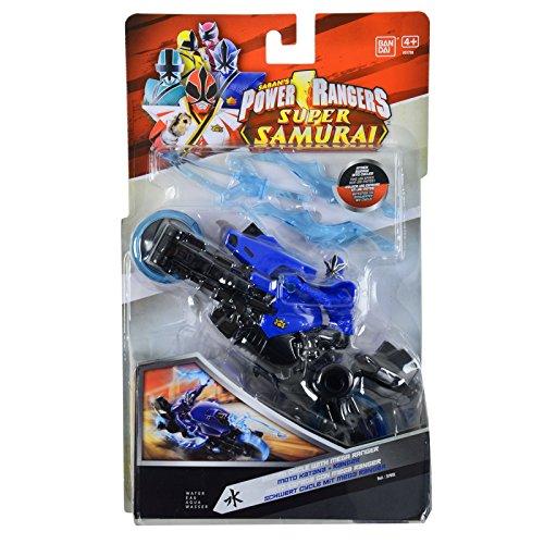 Power Rangers Super Samurai – Moto Katana et Mega Ranger Bleu – Figurine 10 cm (Import Royaume-Uni)