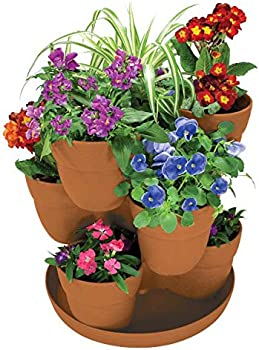 Emsco Bloomers Stackable Flower Tower Planter