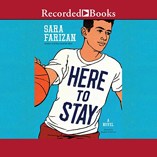 Here to Stay                   By:                                                                                                                                 Sara Farizan                               Narrated by:                                                                                                                                 Jonathan Todd Ross                      Length: 5 hrs and 57 mins     2 ratings     Overall 4.5