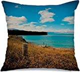 QUEMIN Funda de Almohada New Travel Lake Sky Tekapo Adventure Azul Fashion...