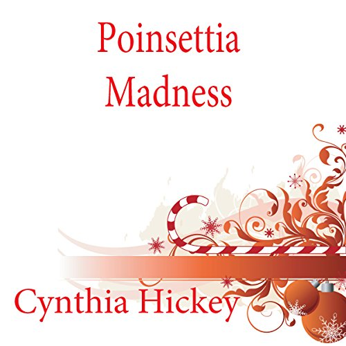 Poinsettia Madness audiobook cover art
