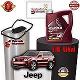 TAGLIANDO CAMBIO AUTO E OLIO CHEROKEE III 3.0 CRD 155KW 2007 - 2010 1015