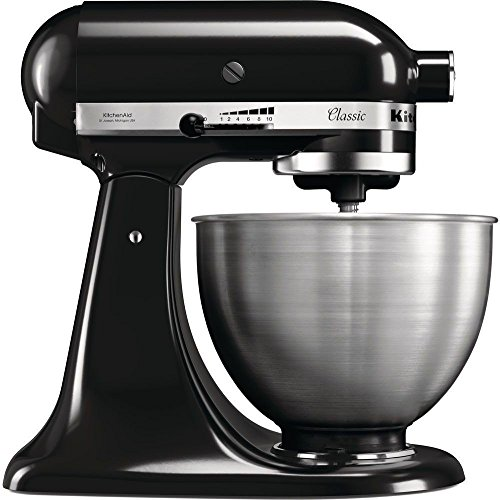 Photo de kitchenaid-5k45sseob-classic-robot-patissier