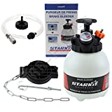 STARKIT PERFORMANCE Brake and Clutch Bleeder 3 liters with multi-brand adapters for Bleeding the brake circuit