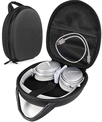 Bose QuietComfort Headphones Carrying Case for QC3, QC25, QC2, QC15, QC35, Around-Ear AE2w, AE2i, AE2, TP-1, SoundLink On-Ear, OE, OE2, OE2i,