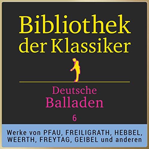Deutsche Balladen, Teil 6 (Bibliothek der Klassiker) Titelbild