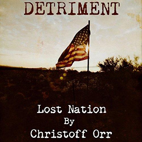 Detriment audiobook cover art