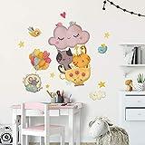 Vinilo decorativo infantil Kina R00518 - Medidas 30x100 cm - Decoración de pared, Vinilos decorativos, Papel pintado