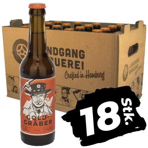 Landgang Brauerei - Goldgräber Pale Ale 18er Karton (18 x 0,33l) - 5,2%