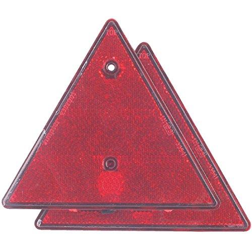 2 triangles réfléchissants