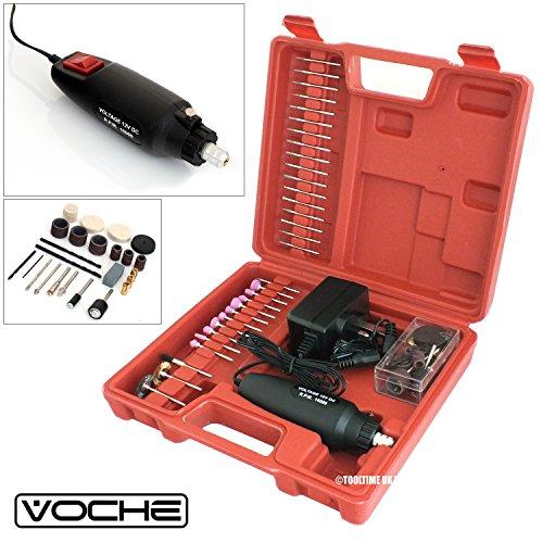 Voche 240V Multi-Tool Mini Rotary Hobby Craft Drill + 160 Accessories + Case