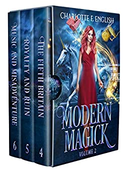 Modern Magick, Volume 2: Books 4-6 (Modern Magick Collected) by [Charlotte E. English]