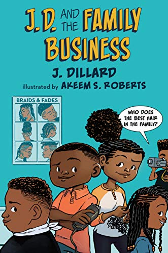 Image of J.D. and the Family Business (J.D. the Kid Barber)