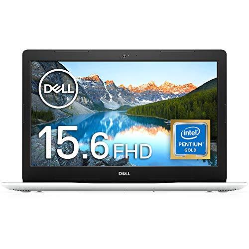 Dell ノートパソコン Inspiron 15 3583 Pentium Gold ホワイト 20Q41W/Win10S/15.6FHD/4GB/128GB SSD Ins 1...