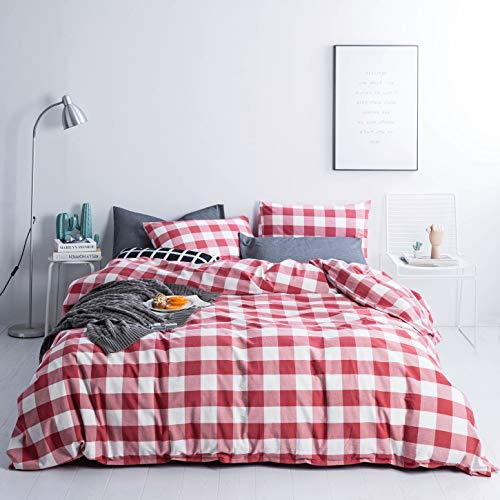 red and white sheets - 9