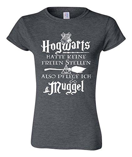 Also Pflege ich Muggel - Damen T-Shirt - Krankenschwester Krankenpfleger und Altenpfleger T-Shirt (XL)