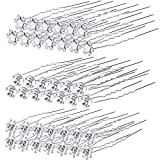 40 Pack Bridal Wedding Hair Pins Rhinestone Hair Clips Accessories for Women and Girls (Style B)